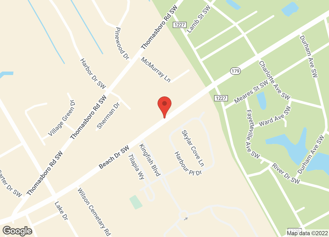 Google Map of VCA Seaside Animal Hospital