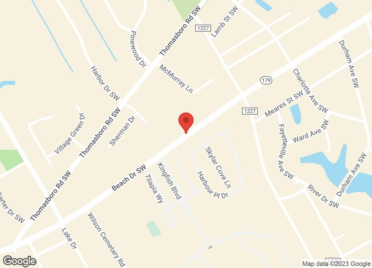 Google Map of VCA Seaside Animal Hospital