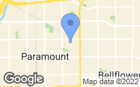Map of Paramount, CA