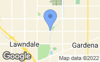 Map of Lawndale, CA
