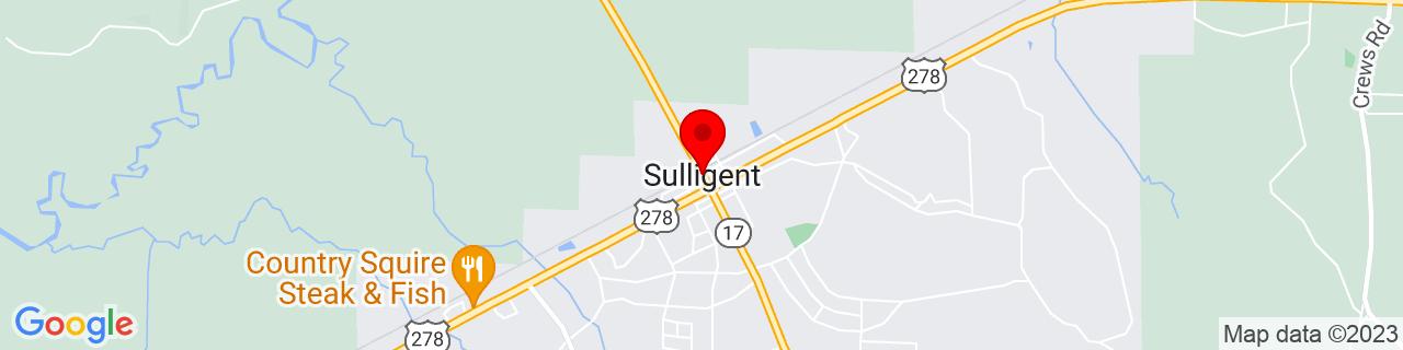 Google Map of 33.9017738, -88.1344776