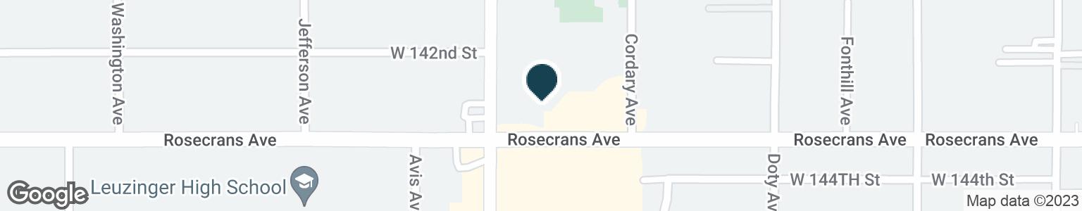Google Map of14250 PRAIRIE AVE
