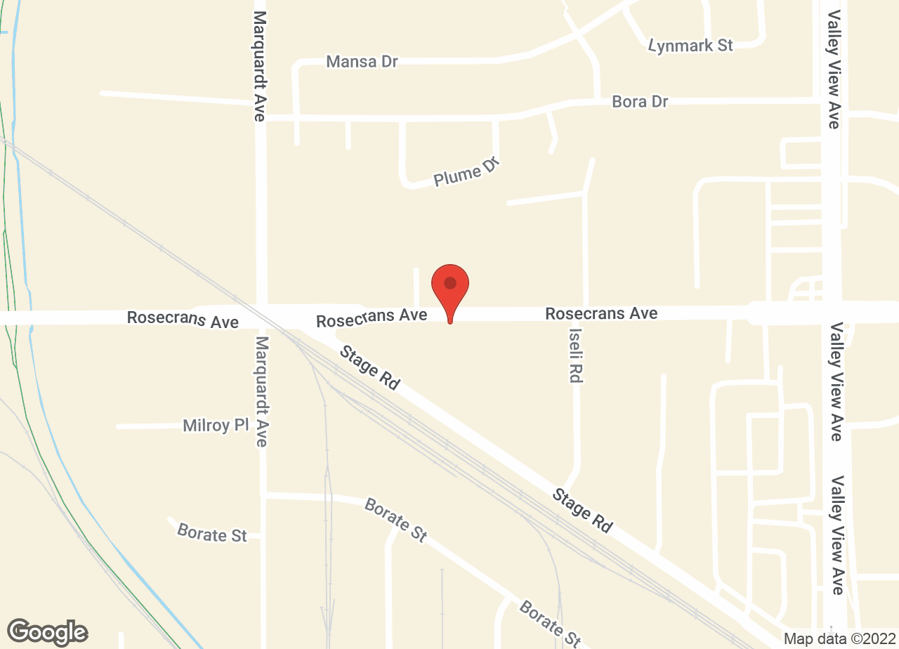 Google Map of VCA La Mirada Animal Hospital