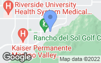 Map of Moreno Valley, CA