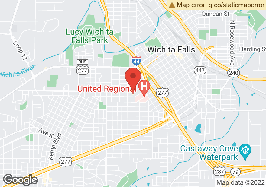 Google Map of 1701 9TH ST