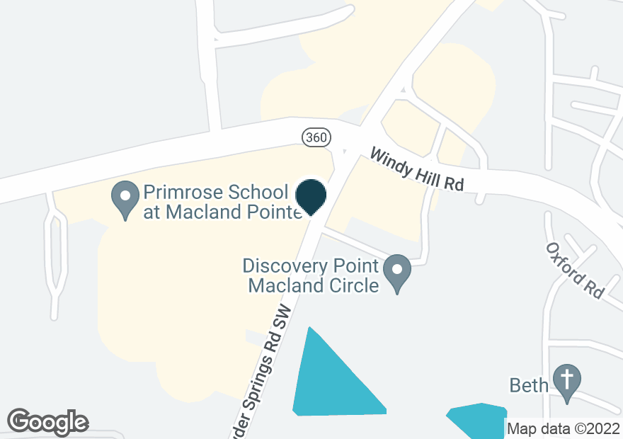 Google Map of1733 MACLAND RD SW