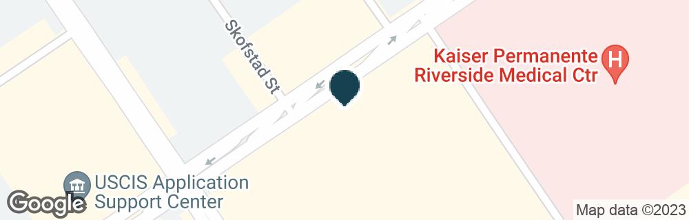 Google Map of10992 MAGNOLIA AVE