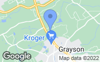Map of Grayson, GA