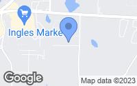 Map of Dallas, GA