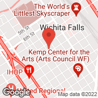 [Wichita Falls Downtown YMCA Main Branch Map]