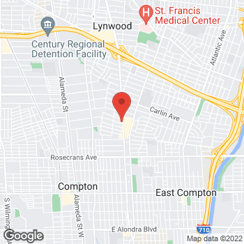 Map of Check `n Go Long Beach Blvd. at 2109 N. Long Beach Blvd., Compton, CA 90221