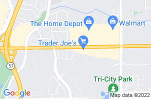 Brea Mattress Store Location Map