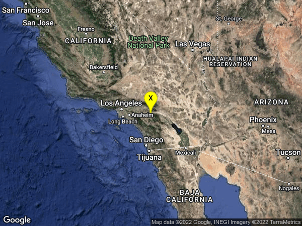 earthquake 2km SSE of Beaumont, CA