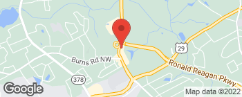 Map of 550 Pleasant Hl Rd NW in Lilburn