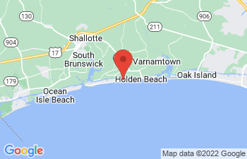 Map of Holden Beach