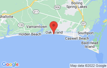 Map of Oak Island