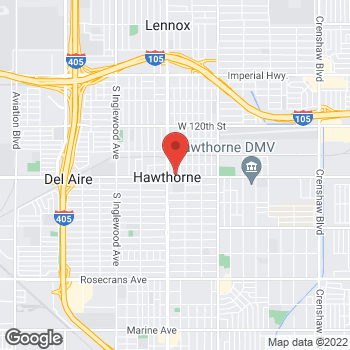 Map of Sprint at 12730 Hawthorne Blvd, Hawthorne, CA 90250