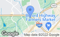 Map of Chamblee, GA