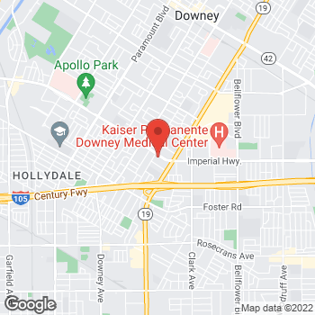 Map of Check `n Go at 8724 Imperial Highway, Downey, CA 90242