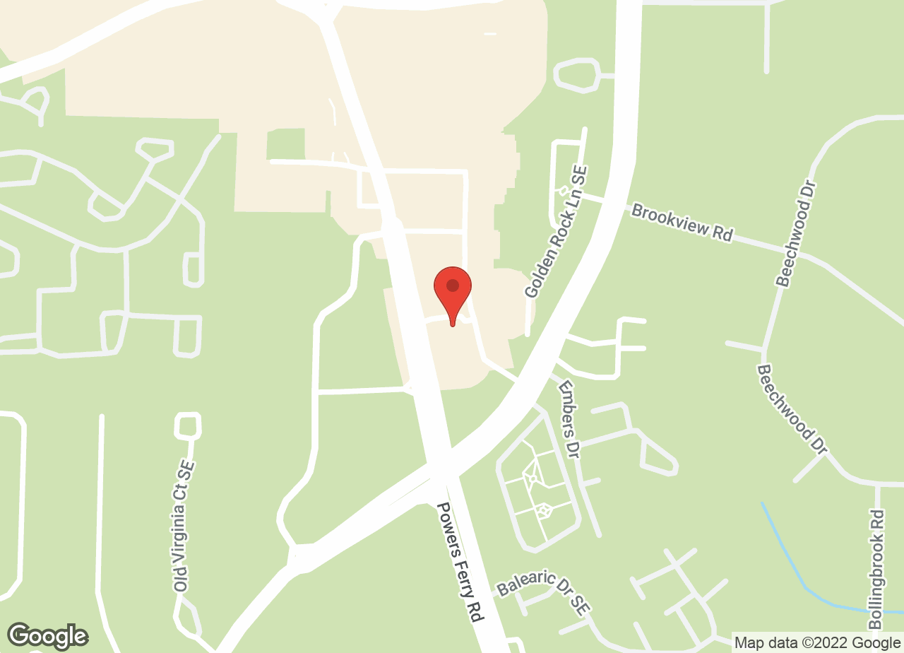 Google Map of VCA Terrell Mill Animal Hospital