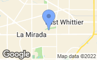 Map of La Mirada, CA