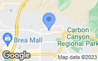 Map of Brea, CA