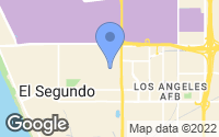 Map of El Segundo, CA