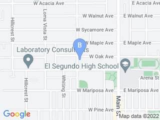 Map of Critter Sitters El Segundo Dog Boarding options in El Segundo | Boarding