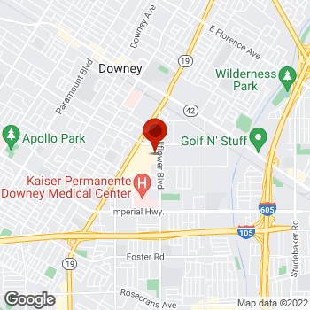 Map of Staples® Print & Marketing Services at 12070 Lakewood Blvd, Downey, CA 90241