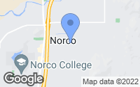 Map of Norco, CA