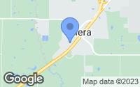 Map of Calera, OK