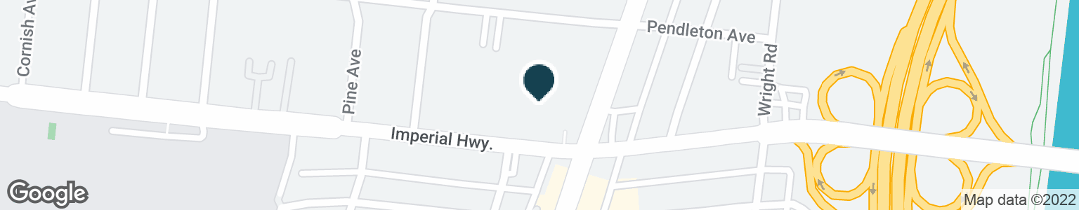 Google Map of4351 E IMPERIAL HWY