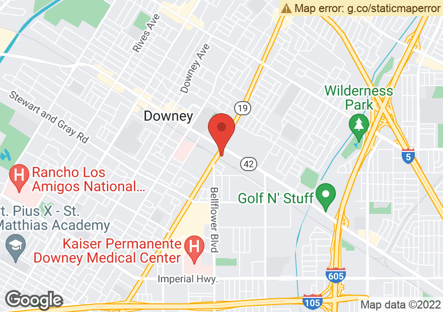 Google Map of 9018 FIRESTONE BLVD