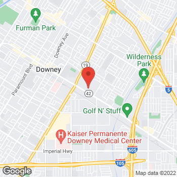 Map of BCBG at Macy's at 400 Stonewood Street, Downey, CA 90241