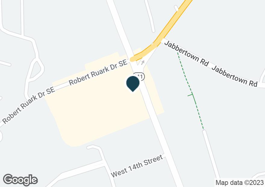 Google Map of1531 N HOWE ST