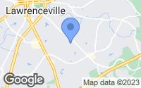 Map of Lawrenceville, GA