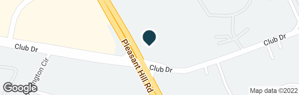 Google Map of1490 PLEASANT HILL RD