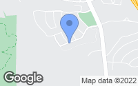 Map of Chino Hills, CA