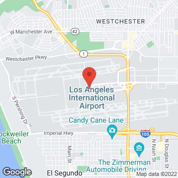 Map of Earl of Sandwich at 380 World Way, Los Angeles, CA 90045