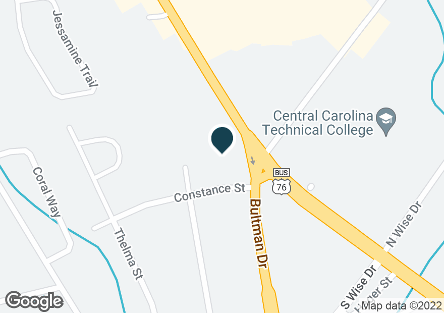 Google Map of1000 BROAD ST
