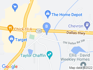 Map of Kennels at Town & Country Dog Boarding options in Marietta | Boarding