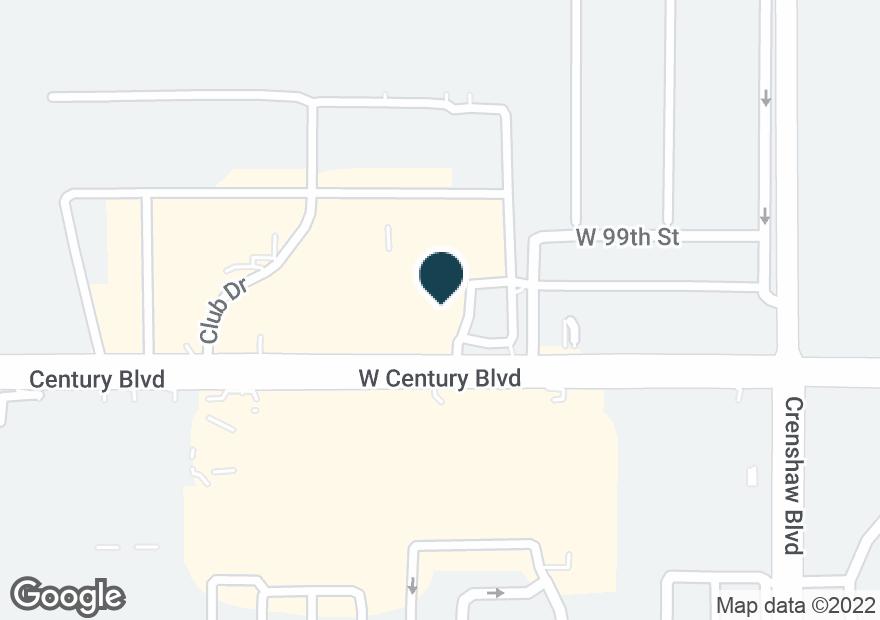 Google Map of3331 W CENTURY BLVD