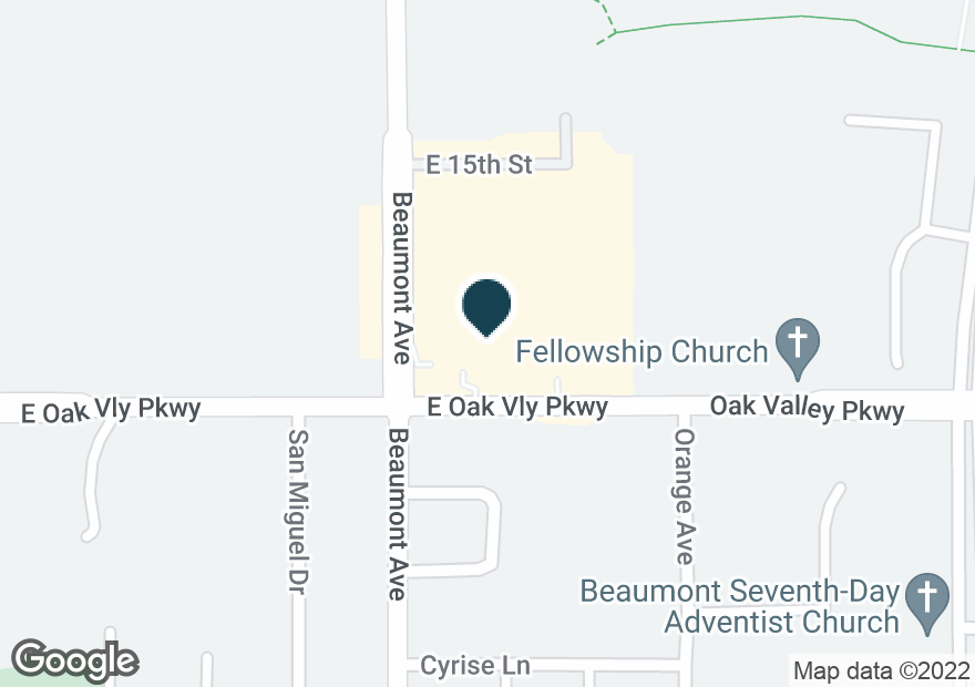 Google Map of1400 BEAUMONT AVE