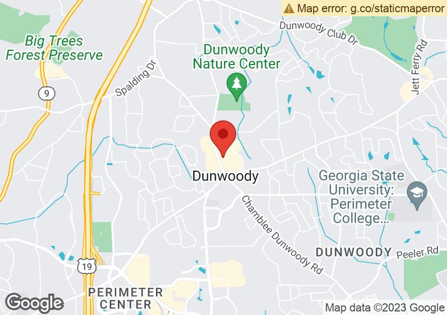 Google Map of 5511 CHAMBLEE DUNWOODY RD