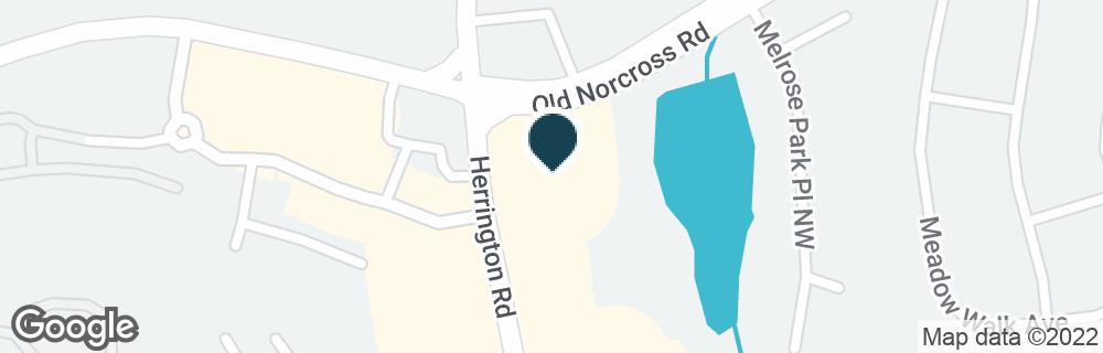 Google Map of2500 OLD NORCROSS RD