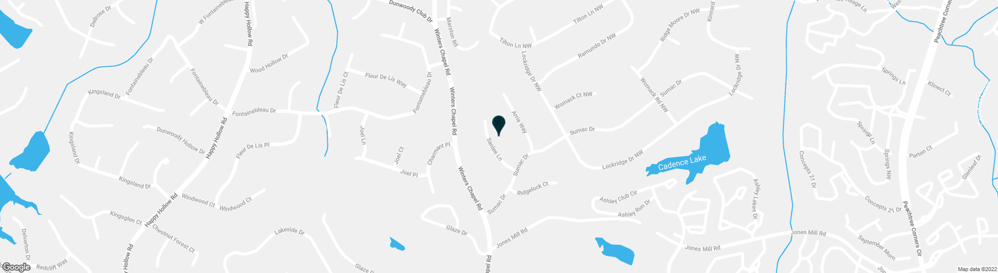 5237 Sanlee Lane Dunwoody GA 30360