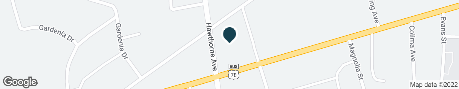 Google Map of110 HAWTHORNE AVE