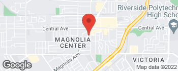 Map of 6710 Magnolia Ave in Riverside