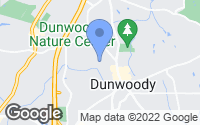 Map of Dunwoody, GA