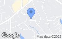 Map of Dunwoody, GA